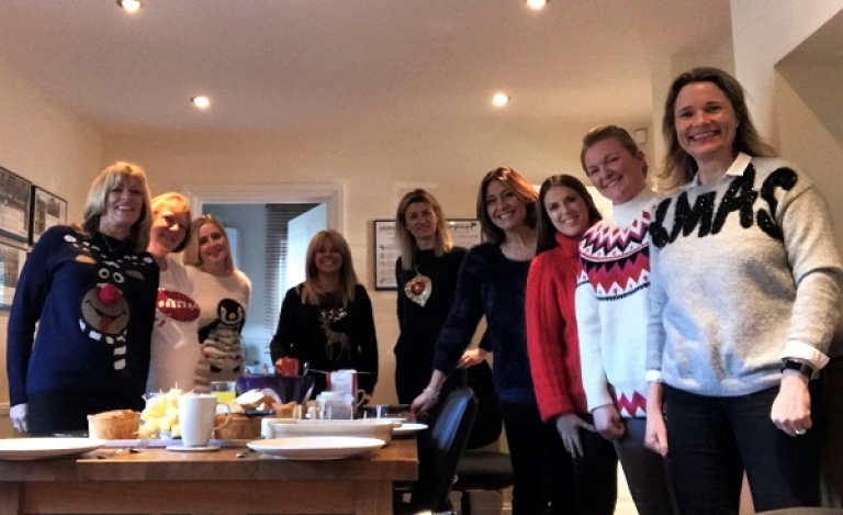 Plater Group Alrewas Team in Festive Spirit