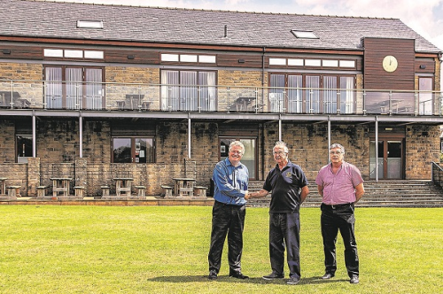 Plater Group Sponsors County Cricket Day at Glossop Cricket Club