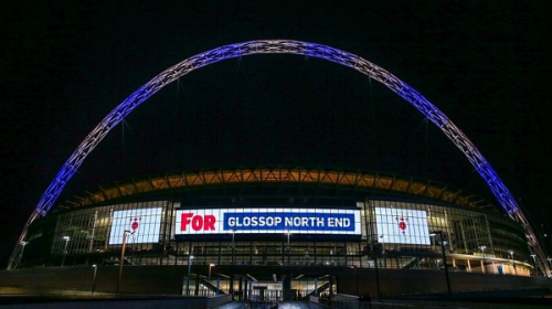Sponsored Club Lit Up at Wembley