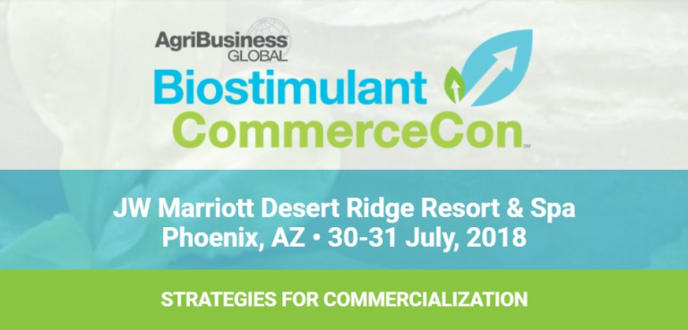 DR Russell Sharp Invited to Present at Biostimulant CommerceCon